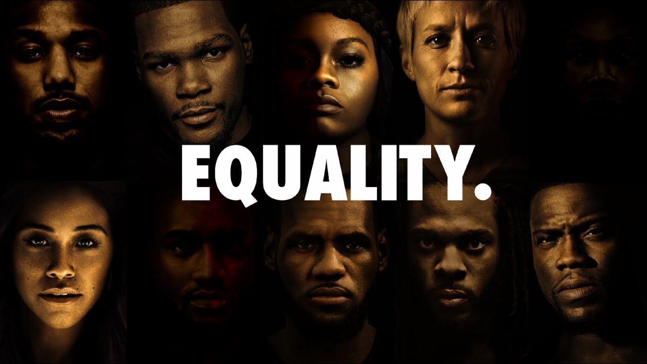 b82777ccb NIKE Equality Campaign - YouTube