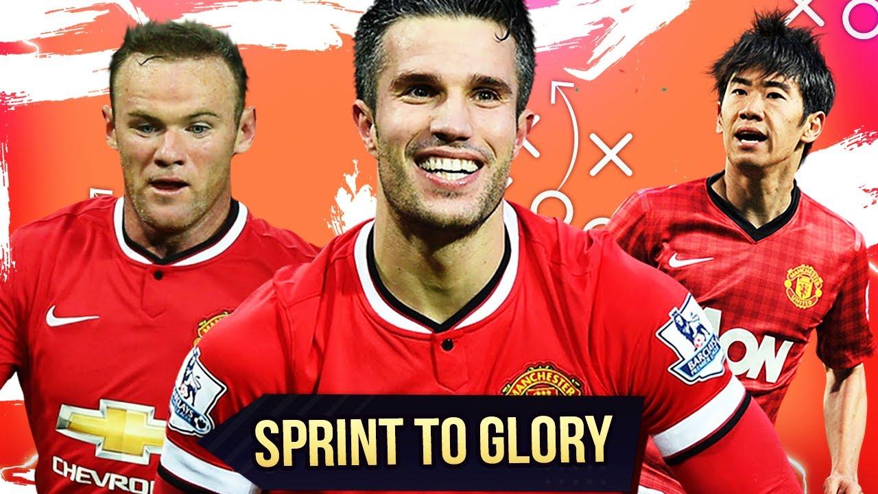 FIFA 14 Retro Manchester United Sprint to Glory Showdown vs. DennisGamingTV ????????♂️