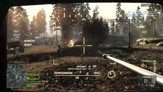 Battlefield 4 - BTR-90 vs. LAV-AD and guy on foot