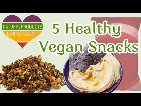 5 Healthy Vegan Snacks at Expo West