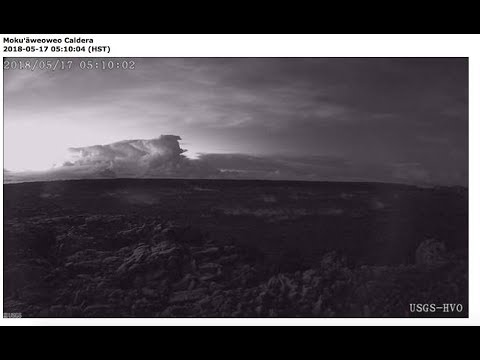 USGS Status Update of Kīlauea Volcano - May 18, 2018