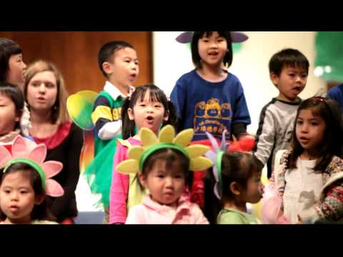 Jasmine Yau's First Performance - Easter Performance at Pui Tak Christian School