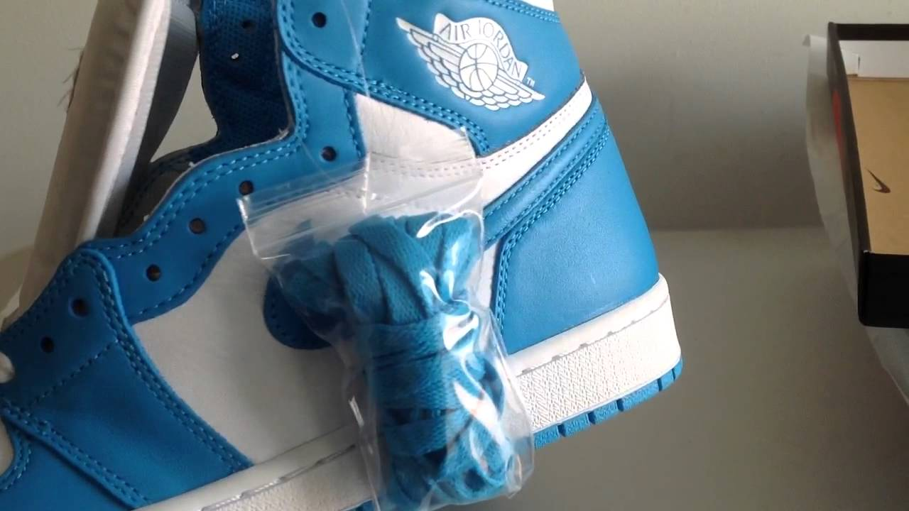 newest collection 10039 9ac39 Air Jordan 1 Retro High OG white Dark Powder Blue