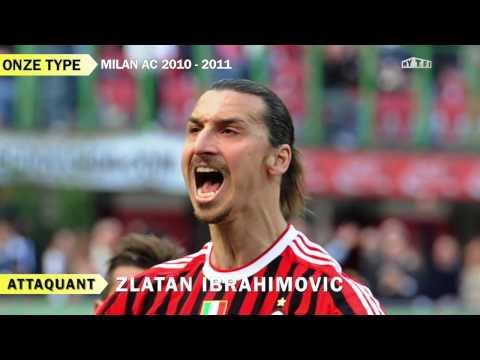 Souvenirs : l'AC Milan d'Ibrahimovic et Thiago Silva