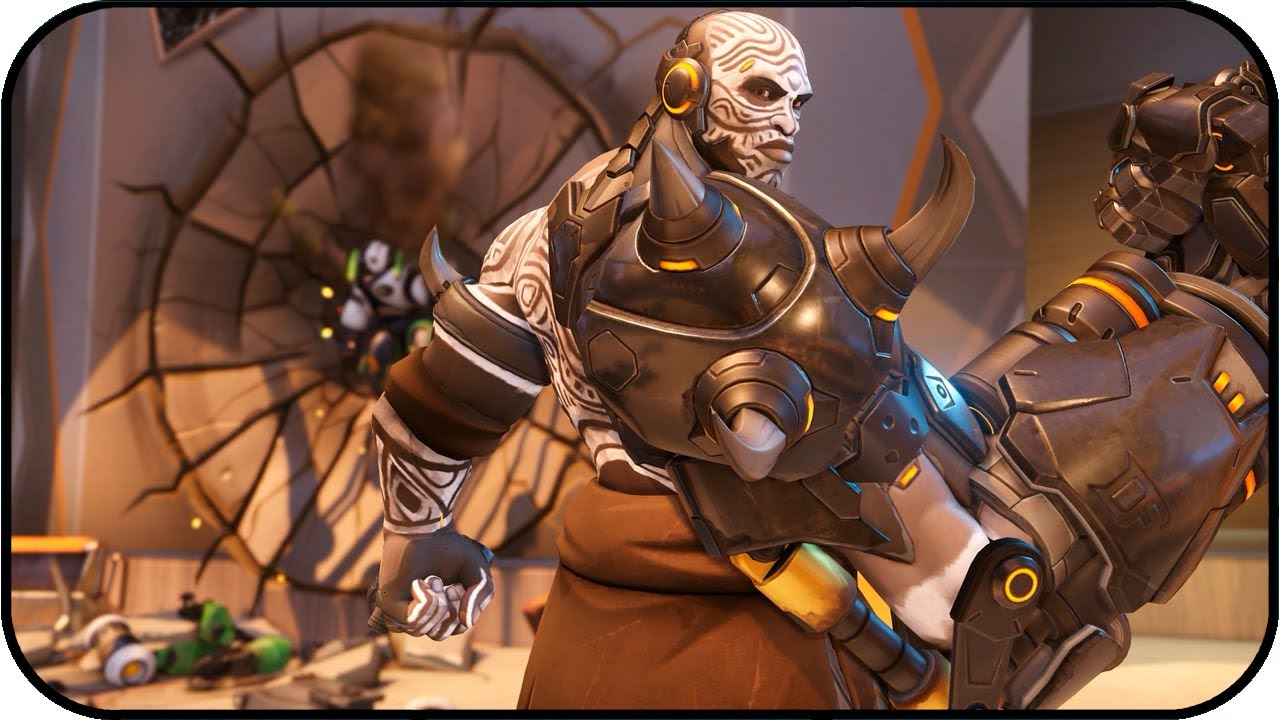 Overwatch Doomfist Pintado Animated Wallpaper 4k 60fps