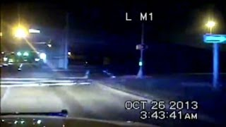 Texas Police Dash Cam Video: Hero Officer Chases Suspect After Being Shot in Face