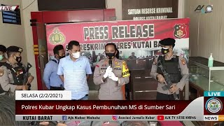    Press Release Kasus Pembunuhan Gadis Dayak Di Kutai Barat