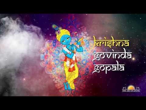 Krishna Govinda Gopala | Popular Art of Living Krishna Bhajan