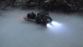 Unimog in the scary Fog
