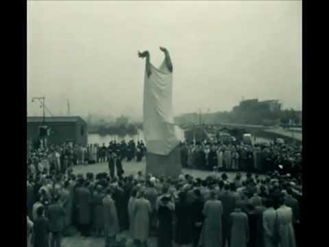 Onthulling Zadkine monument (1953)