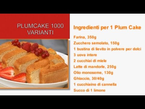 "Plumcake ""1000 varianti"""