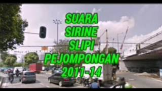 Suara Sirine PJL 41 Karet Bivak ( Slipi Pejompongan )