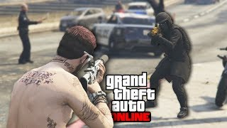 GTA and Chill?? (2 HOURS of WAR) [GTA 5 Online and Chill] #15