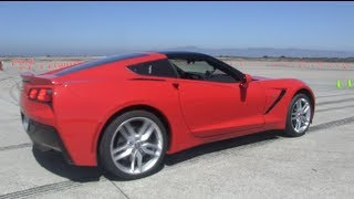 Testing the 2014 Chevy Corvette Stingray Z51 0-60 MPH