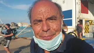 Bruno Vespa sbarca al porto di Termoli