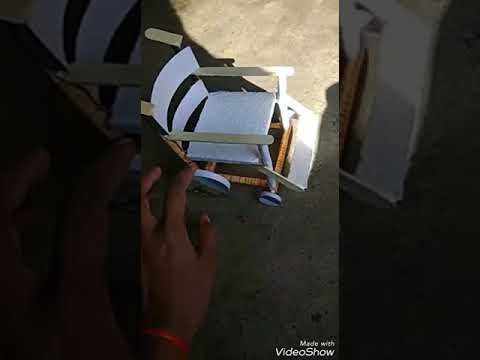 Wheel chair ||Mini wheel chair 3D model||NIFT SITUATION TEST