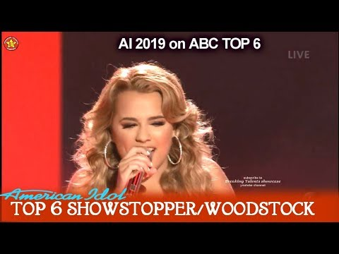 "Gabby Barrett sings own single ""I Hope"" Guest Performance She's Engaged  