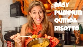 Pumpkin Quinoa Risotto (it's So Easy!)