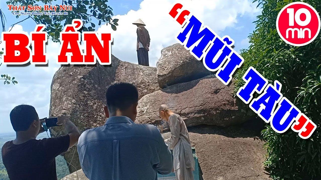 Núi Dài 5 Giếng (Ngũ Hồ Sơn) – Bí Ẩn Con Tàu Huyền Thoại Trên Núi | Du Lịch An Giang