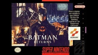 RMG Rebooted EP 169 Holiday Special 7 Batman Returns SNES Game Review Part One