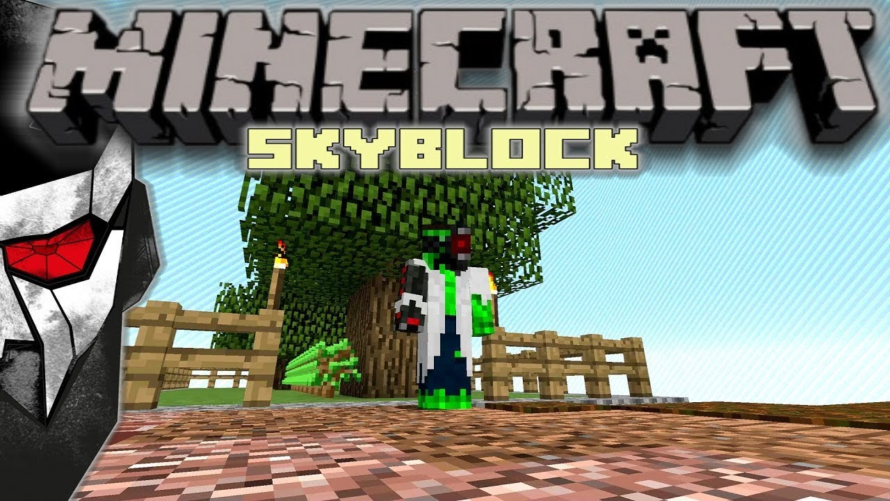 Minecraft Skyblock - How to get started? #1