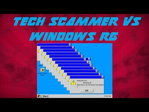 Tech Support Scammer Doesn't Like Windows RG!