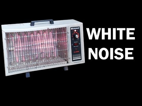 Old Space Heater White Noise, ASMR 10 hours, relaxing video,