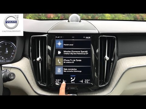 VOLVO XC40/XC60/S90/V90/XC90 '18 || Sist. Multimedia (Sensus + Apple CarPlay + Panel Instrumentos)