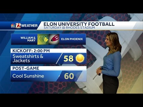 WATCH: Plenty Of Sunshine With Cold To Cool Temperatures