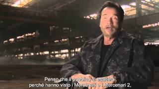 I Mercenari 3 - The Expendables: intervista ad Arnold Schwarzenegger (sottotitoli in italiano)