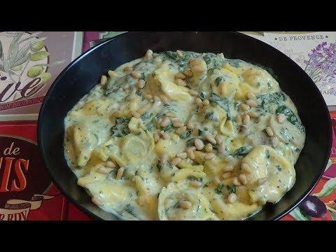 diner-en-10-min:-tortellinis-sauce-ricotta-épinards