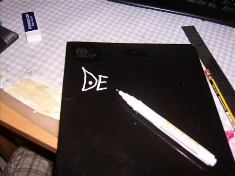 how to make a death note replica