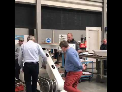 Video by Holland Yachting Group of the suppliers tour at Hydromar - 16 May 2017