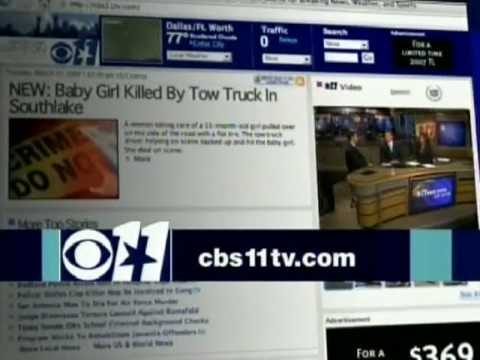 KTVT CBS 11 News at 4 2007 Close