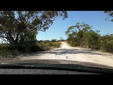 Collaby Hill Road, Southern Flinders Range. Sth. Aust.
