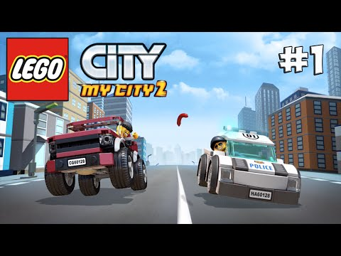 LEGO City My City 2. Прохождение №1 (Gameplay iOS/Android)