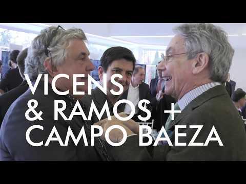 VICENS & RAMOS + CAMPO BAEZA en Diálogos de Arquitectura y Empresa MADRID. Marzo 2017
