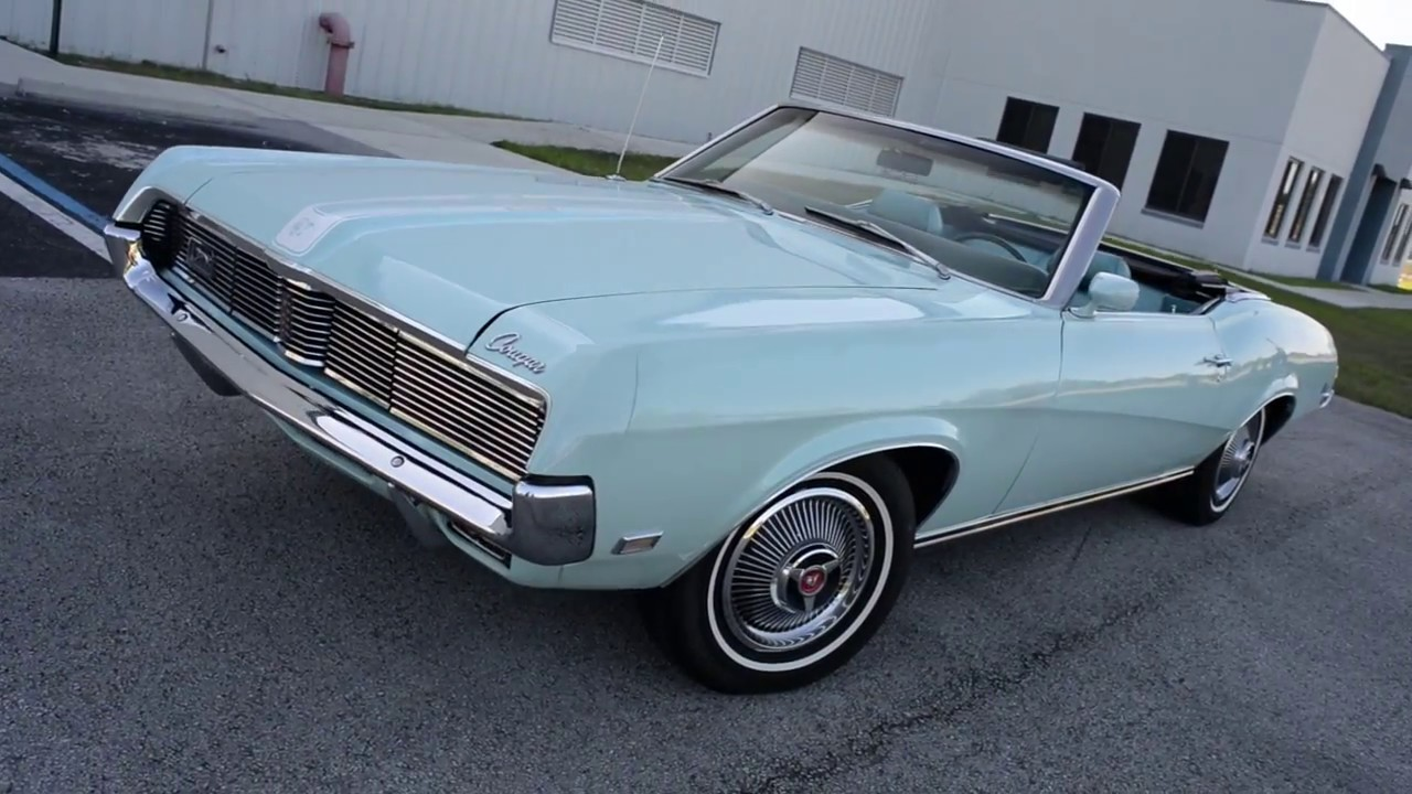 1969 mercury cougar convertible for sale youtube