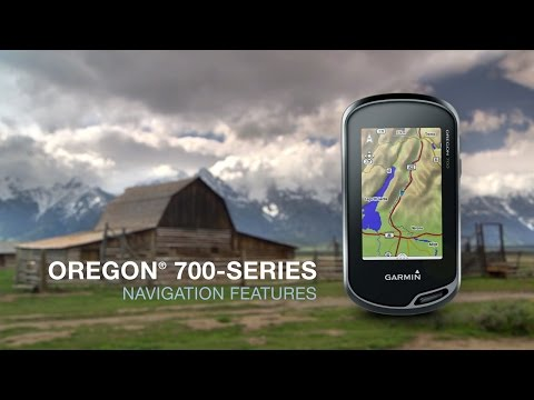 Oregon 700 Series: Using Navigation Features