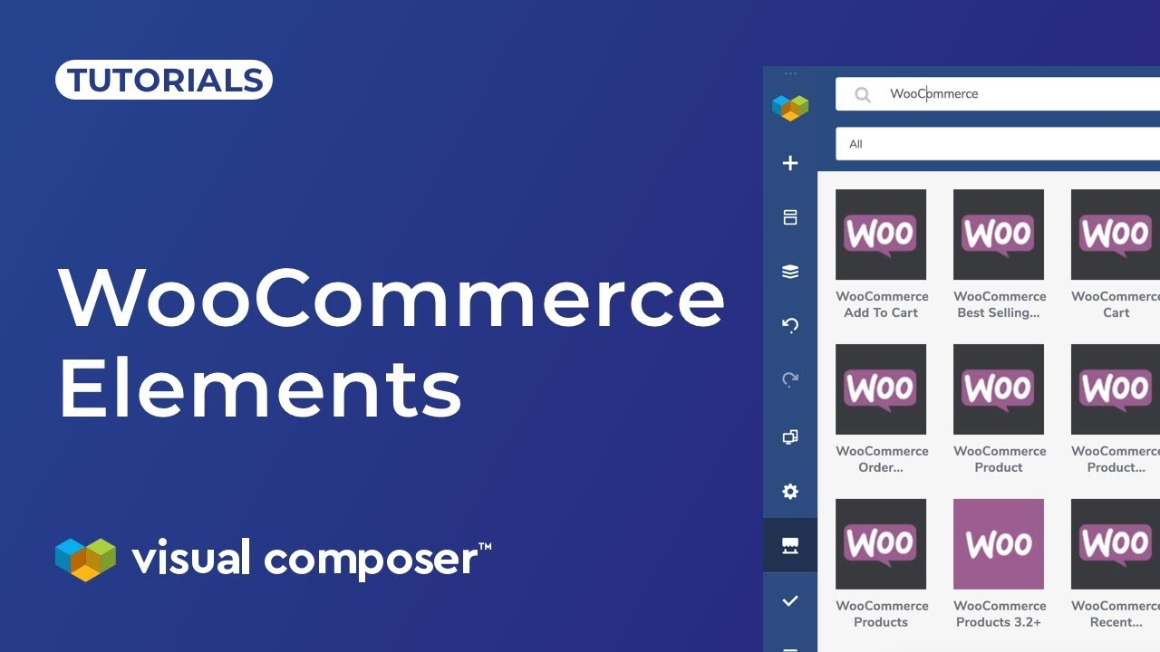 How to use WooCommerce elements in Visual Composer