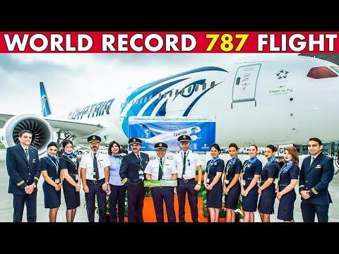 BOEING 787 WORLD RECORD Flight   Trailer