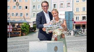 Trinkwassertag - Neue Brunnen in der Stadt Salzburg 2017 HD Salzburg AG TV