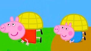 Свинка Пеппа показывает как стать улиткой #DJESSMAY