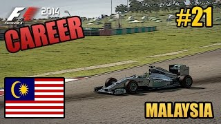 F1 2014 Career Mode - 21 - Malaysia - Mercedes (Legend AI)