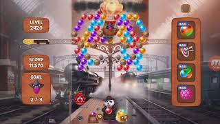Panda Pop- Level 2420 (No need to suplex the train)