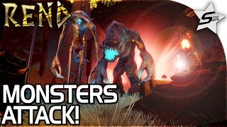 """REND - """"GIANT Wolf Attack, Angered the Monsters, a New Castle..."""" - Rend Gameplay Part 2 PC"""