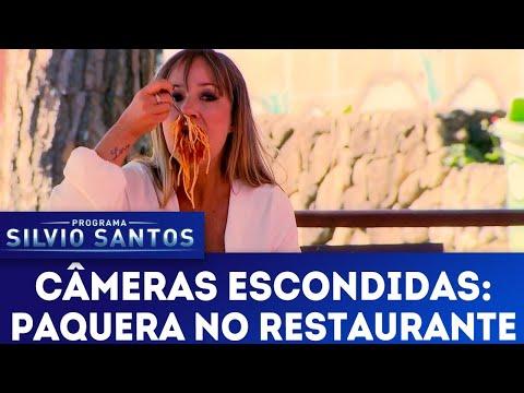Paquera no Restaurante - Spaghetti Seduction Prank | Câmeras Escondidas (05/08/18)