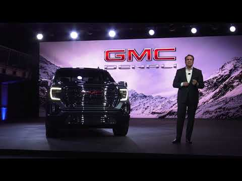 2019 GMC 1500 Denali and Sierra SLT reveal first look from Detroit
