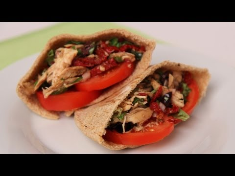 Chicken Pita Sandwich - Laura Vitale -...