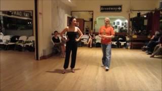 Tango Lesson: Paradas and Pasadas from Forward Ocho
